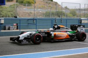 Daniel Juncadella impressed in the Force India