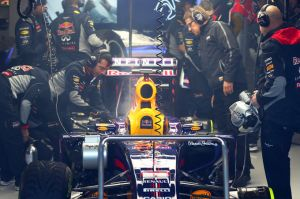 Red Bull suffered ERS problems