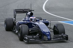 Bottas in the Williams