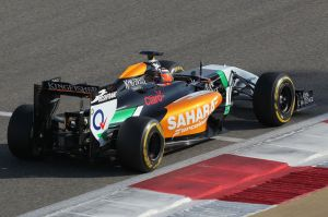 Hulkenberg sets the pace
